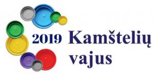 2019 Kamštelių vajus. Logo